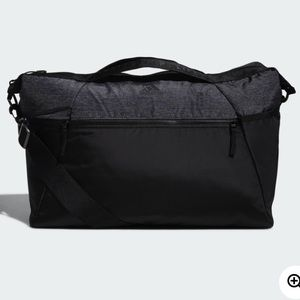 Adidas Black and Grey Studio 3 Duffel Bag